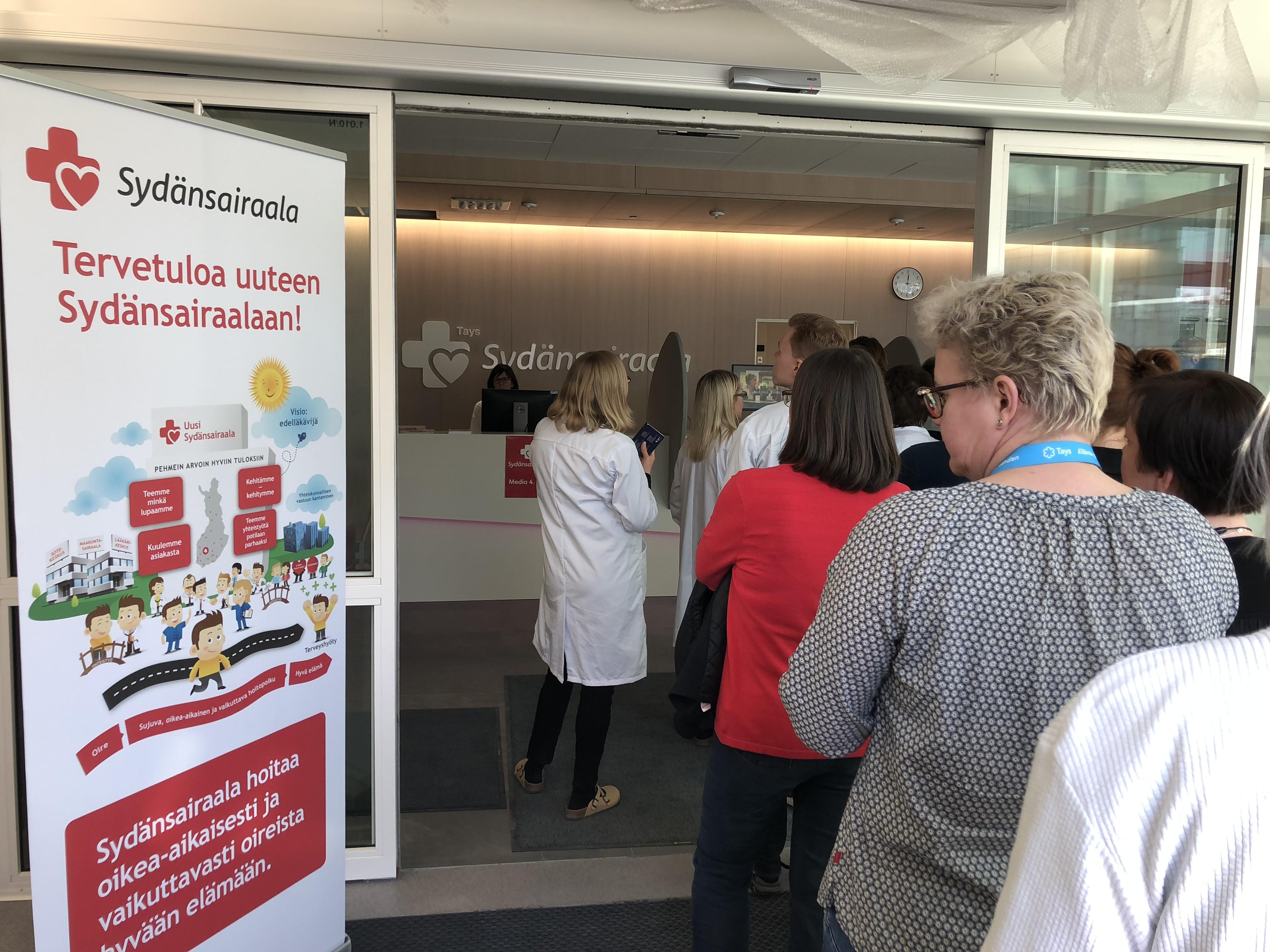 Uusi Sydänsairaala on avattu