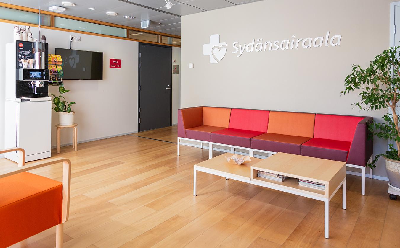 Helsingin Sydänsairaalan aula