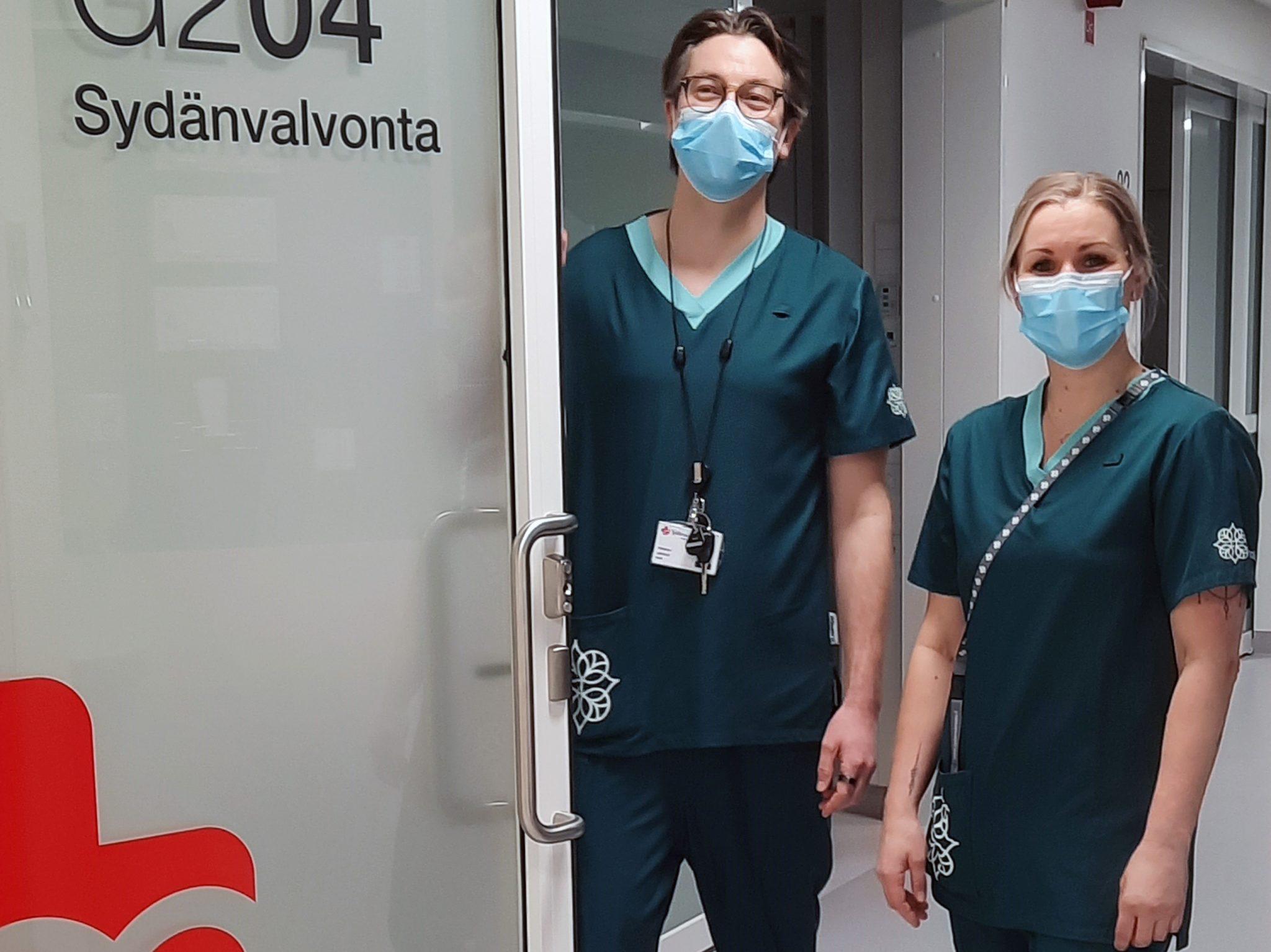 Sydänsairaala Novan työntekijöitä