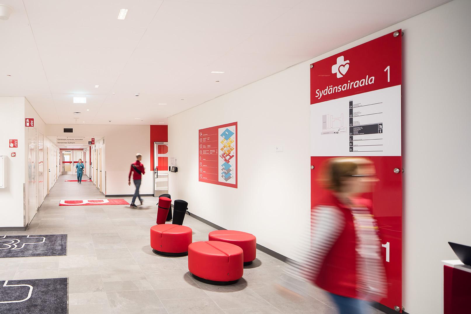 Tays Sydänsairaalan aula